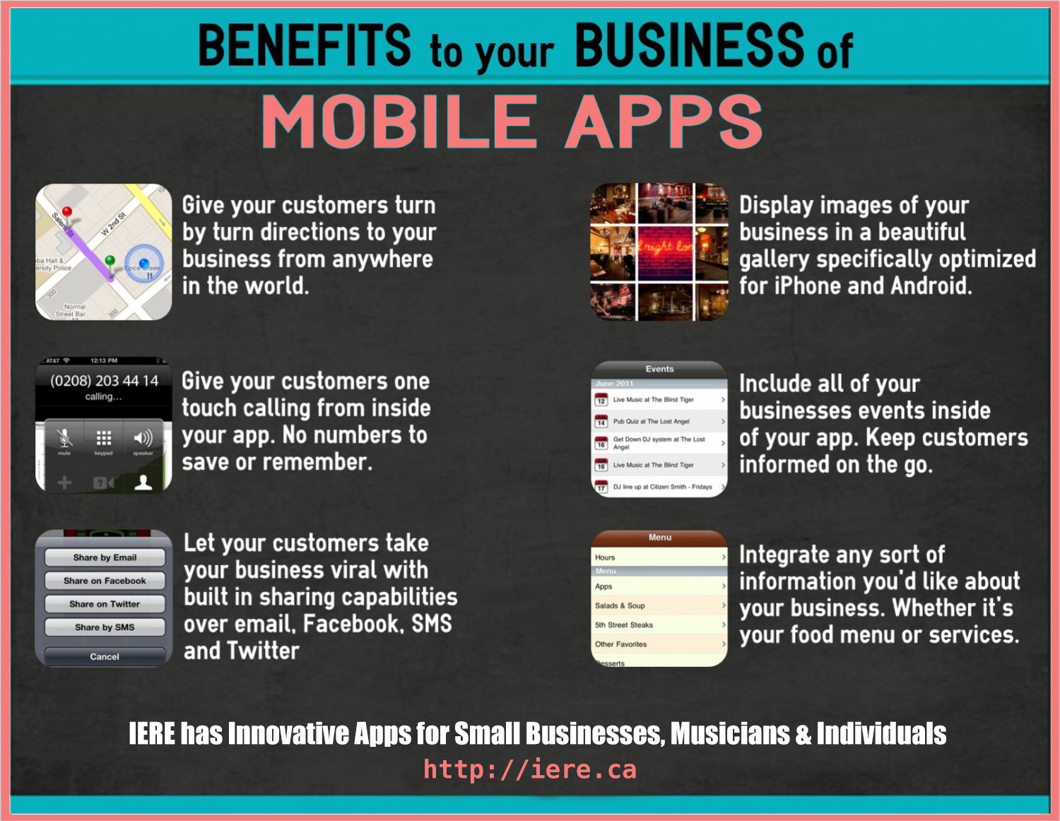 benefits for companies for apps